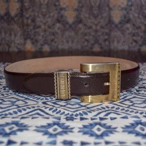 Millenium leather belt